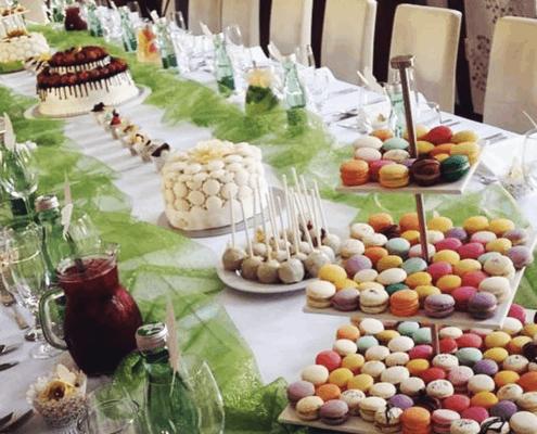 Candy bar, sladký stôl na oslave