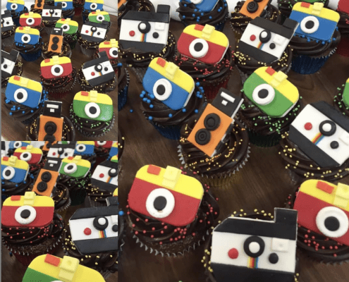 Cupcakes s obrázkami instagram