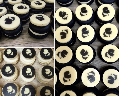 Cupcakes od Karl Lagerfeld na evente