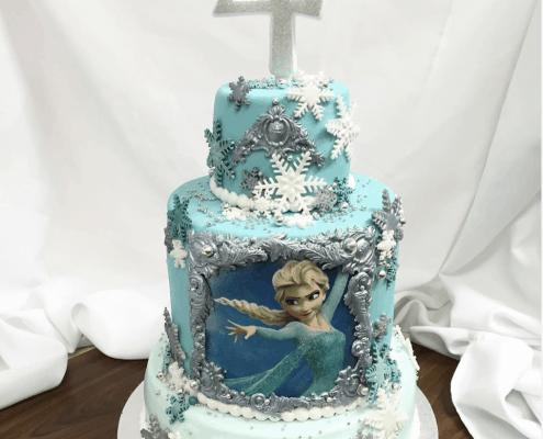 Luxusná detská torta s Elzou Frozen