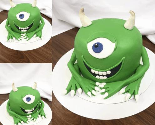 Detská torta v tvare monster s.r.o.