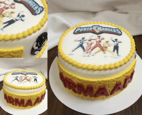 Torta strážči vesmíru so žltým motívom