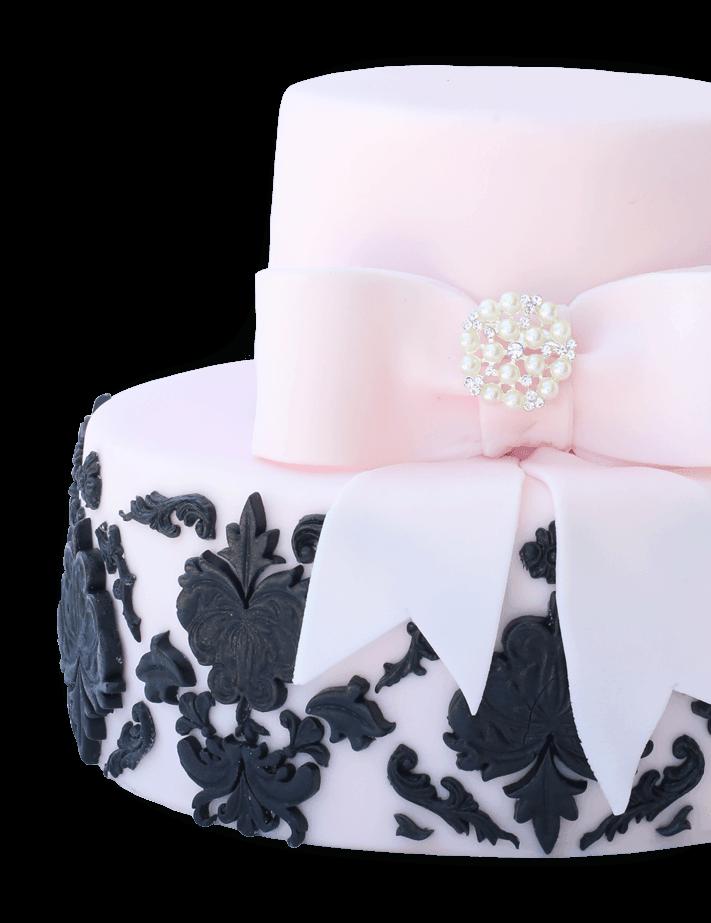 torta na narodeniny ružová