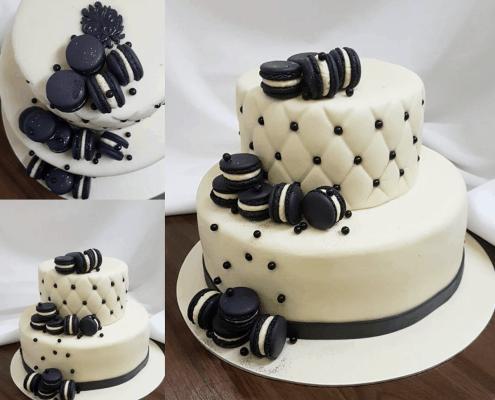 Narodeninová torta z pravého marcipánu