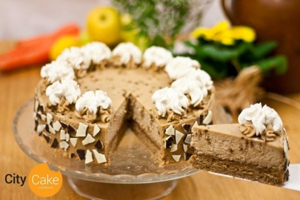 Kávový cheesecake z kávy Brazília
