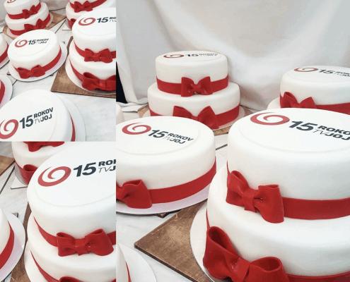 Firemné torty pre televíziu JOJ