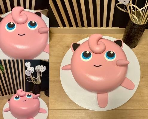 Torta s motívom pokémona Jiglipufa